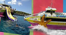 Starfish glass bottom boats